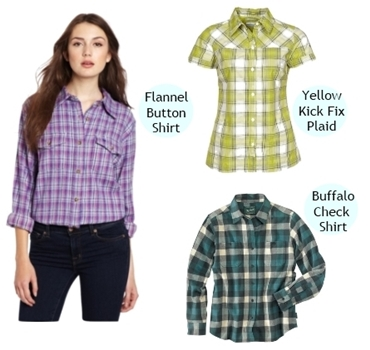 plaid shirts for women spring 2013 trend