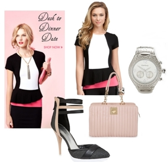 Desk to Date Valentine´s Day Outfit