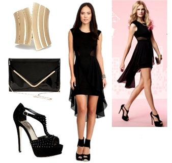 Glam Night Valentine´s Day Outfit