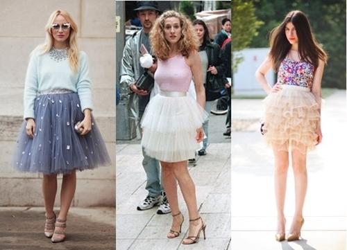 how to wear tutu skirt