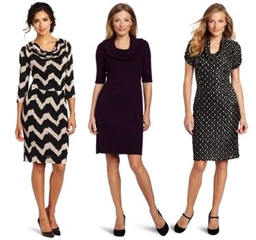 wear to work dresses - cowl neck dresses
