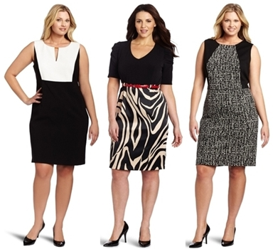 wear to work dresses - plus size dresses