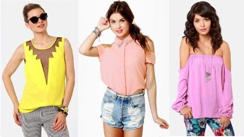 gorgeous and daring spring tops