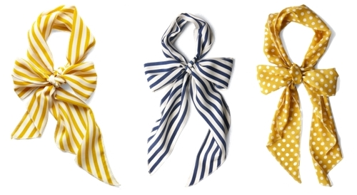 Bow Scarves