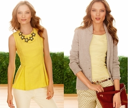 Color Splash with Yellow for Spring