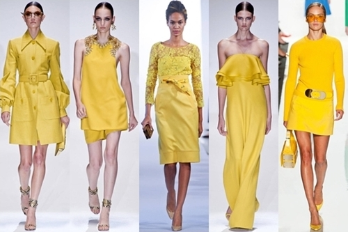 How to Wear Vibrant Yellow for Spring