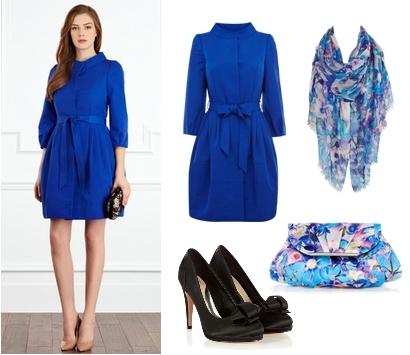 KYA Wedding Coat in Blue