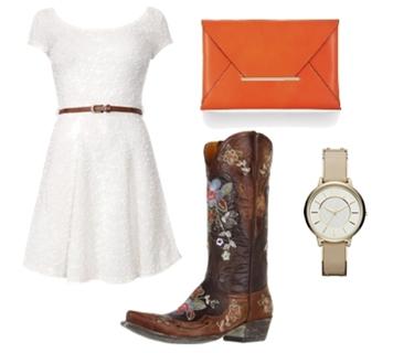 Womens Dress Cowboy Boots