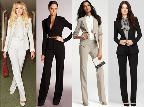 classic pants suits