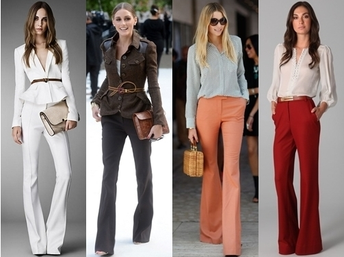 wide leg pants professional work outfit