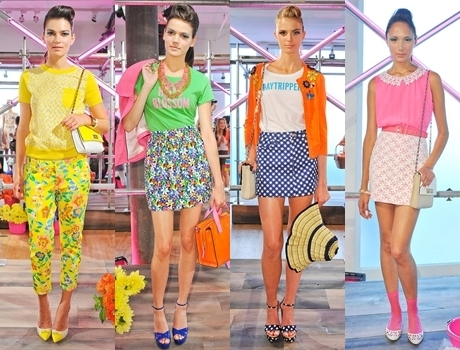 Bright Colors and Patterns Mix for Summer