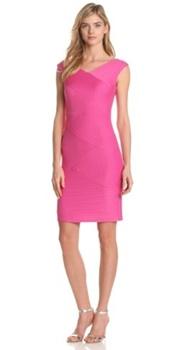 Cap Sleeve Shutter Dress