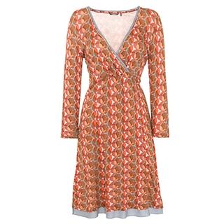 Sandwich Circles Print Jersey Dress