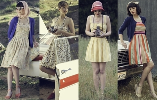 5 Fashionable Retro Dresses for Summer