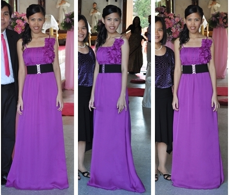 What To Wear With Purple Dress