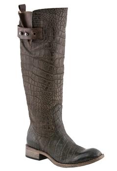 Chocolate Bailey Riding Boot - Women