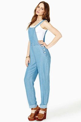 Lazy Afternoon Overalls