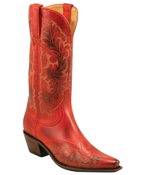 Lipstick Red Cowboy Boot - Women
