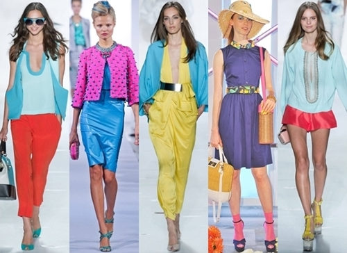 New Colorblocking for Summer