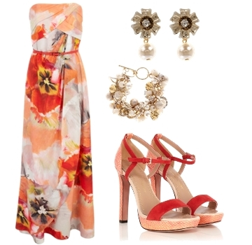 summer wedding guest dresses maxi gown