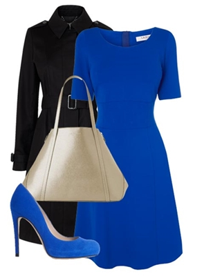 what to wear for Wimbledon bright blue dress