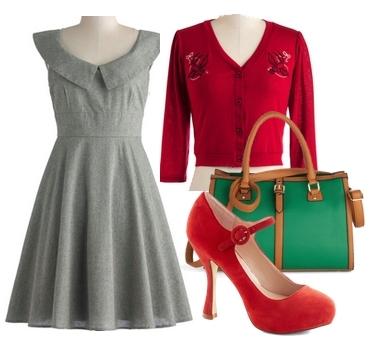 Vintage Business Dress for Work