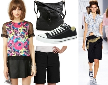 converse shoes with bermuda shorts