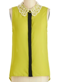 lime tank top for work