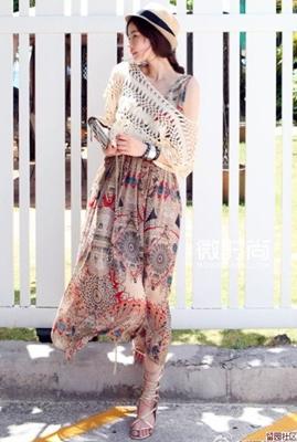 maxi dress with poncho