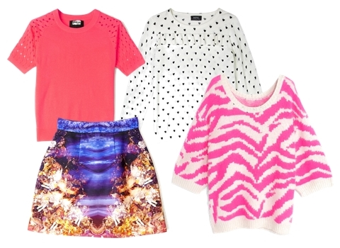 my wardrobe jumpers and skirt