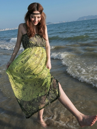 tube dress for the beach
