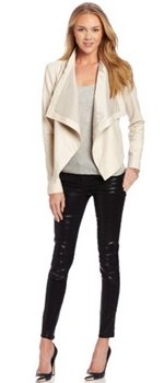 Bone Leather Jacket