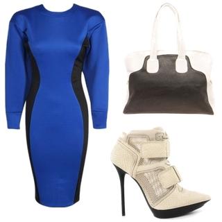 Boxy Colourblock Dress