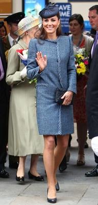 Kate Middleton Blue Missoni Coat