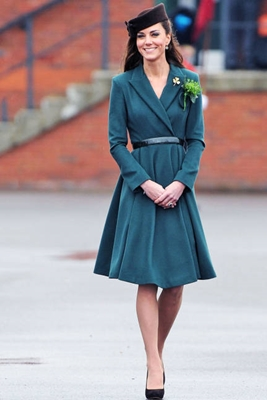 Kate Middleton Emilia Wickstead Dress Coat
