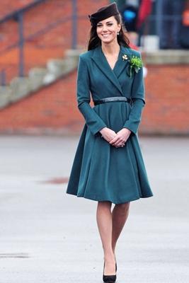 Kate Middleton Emilia Wickstead Dress Coat
