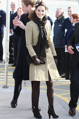 Kate Middleton Katherine Hooker Coat