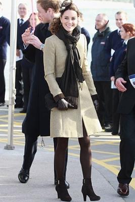 Kate Middleton Katherine Hooker Coat