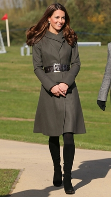 Kate Middleton Reiss Fit and Flare Coat