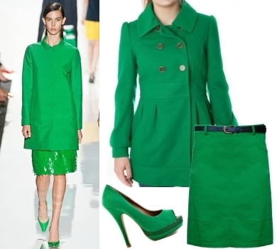 Collection Emerald Green Coat Pictures - Reikian
