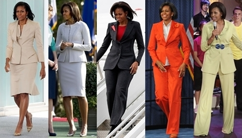 michelle obama business attire suits