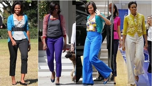 michelle obama trousers
