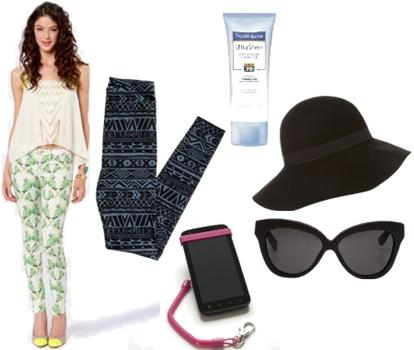 summer essentials for travel