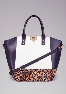 Bel Air Blocked Tote