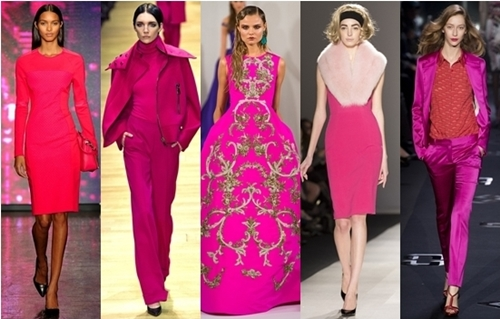 Fall 2013 Trend Alert: In the Pink Shocking Fuchsia Brights