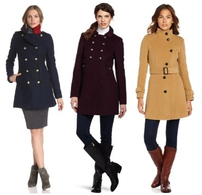 Military Coat Trend for Fall Winter 2013