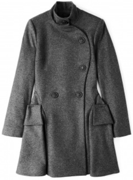 Vivienne Westwood Anglomania Curved Profile Coat