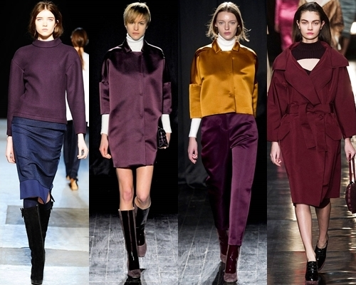 how to wear wine colors