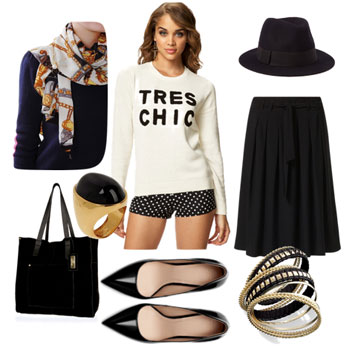 Parisian Chic Conversational Sweaters for Fall