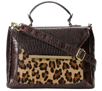 Anne Klein Just Spotted Top Handle Bag